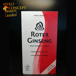 Ginseng Rouge  - 120 capsules