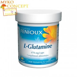 L-Glutamine  - MykoConcept Suisse